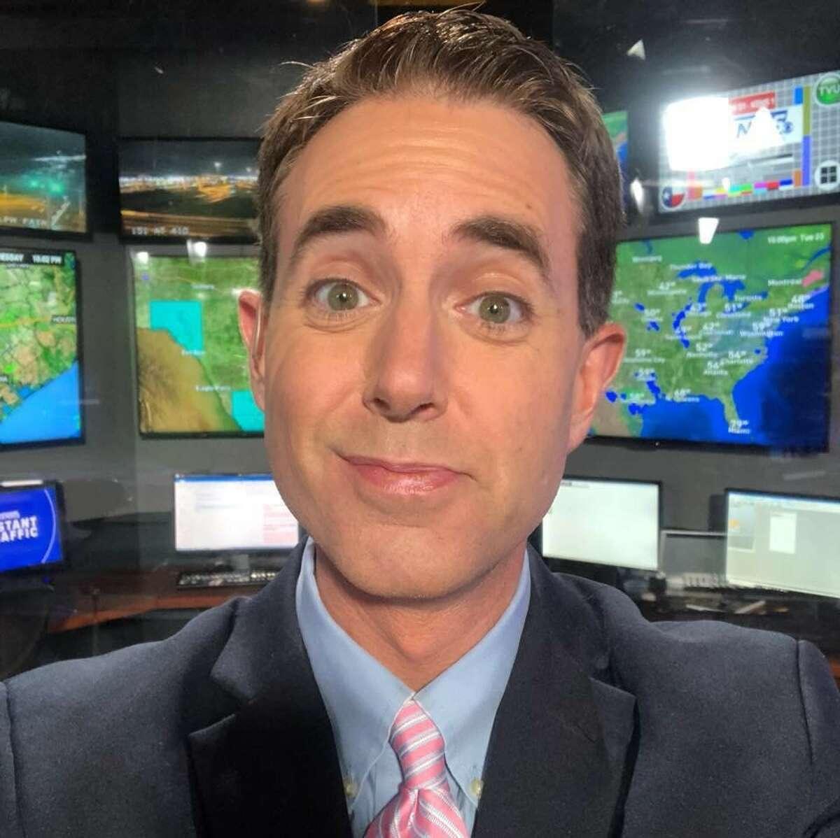 Now: KENS 5 meteorologist Jeremy Baker