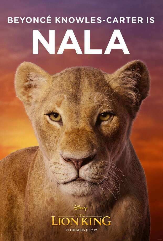 new  u0026 39 lion king u0026 39  movie posters shows beyonc u00e9 u0026 39 s role as nala