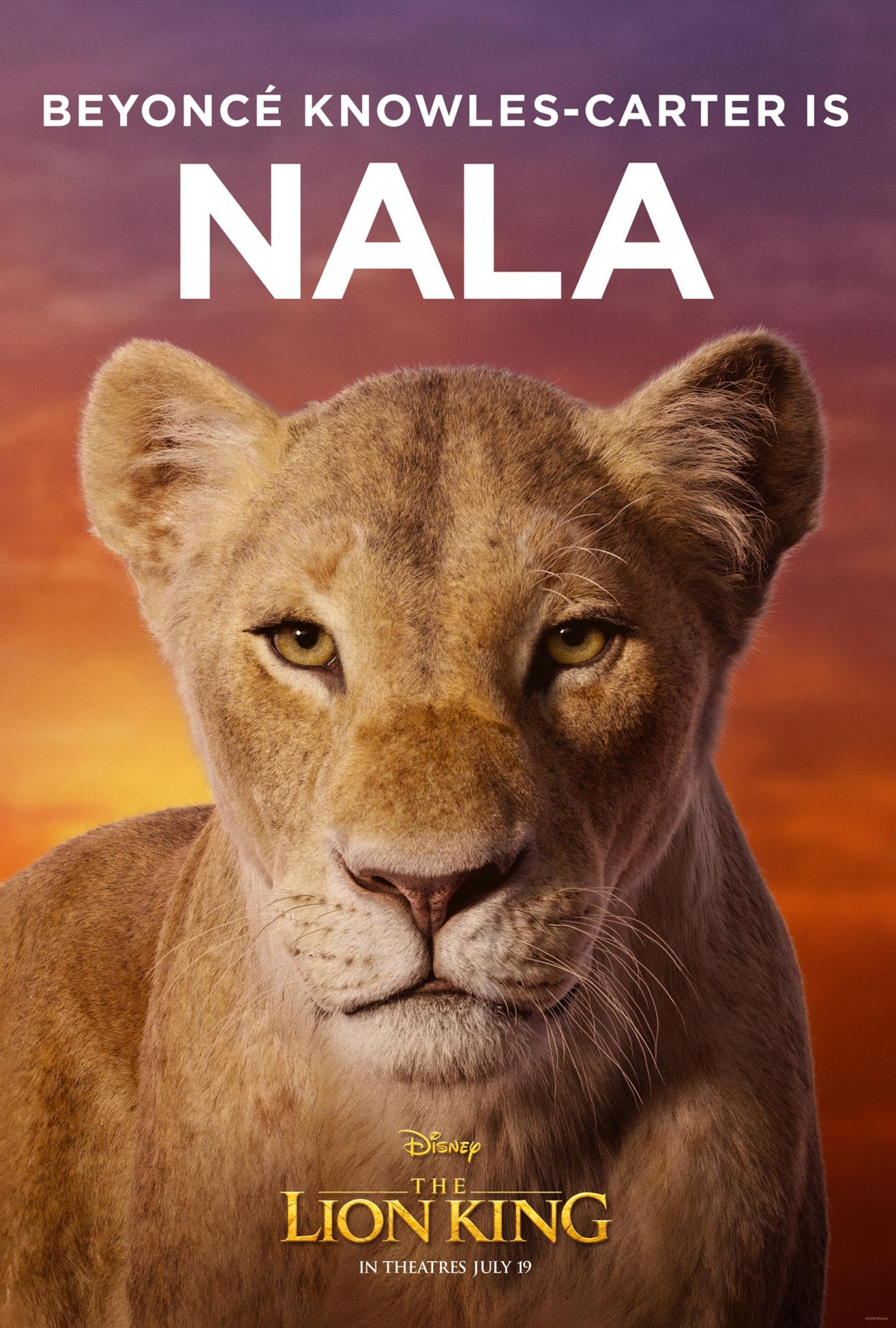 New Lion King Movie Posters Shows Beyonce S Role As Nala Alton Telegraph