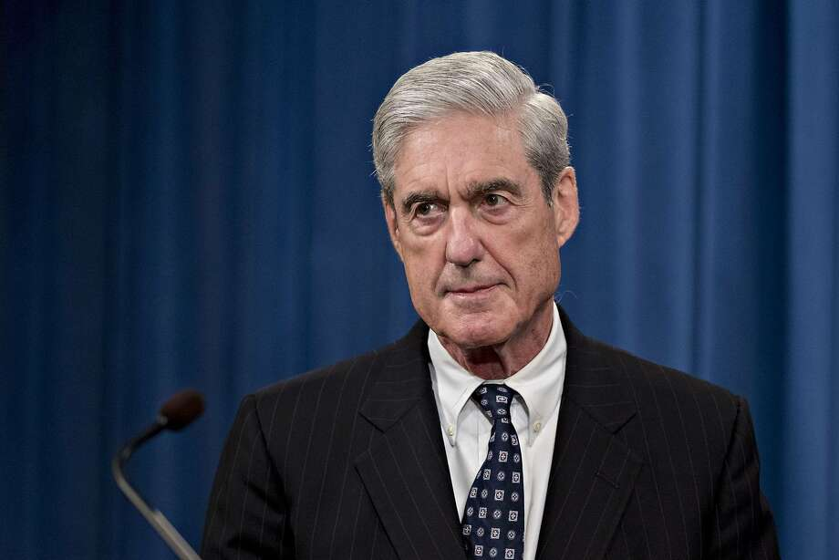 Robert Mueller, special counsel for the U.S. Department of Justice, at the Department of Justice in Washington on May 29, 2019. MUST CREDIT: Bloomberg photo by Andrew Harrer. Photo: Andrew Harrer, Bloomberg