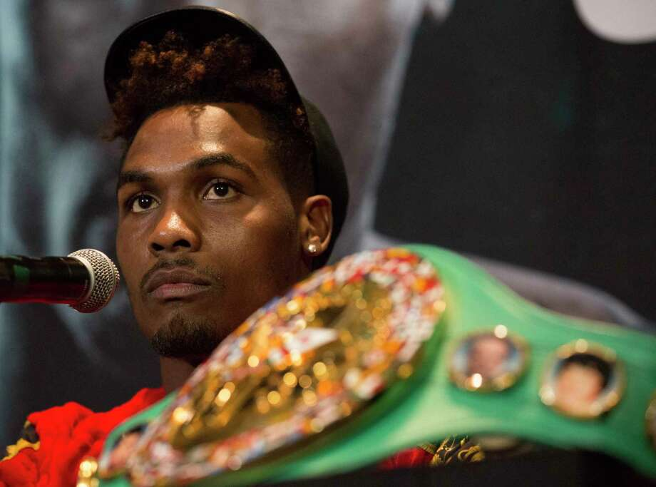 PHOTOS: A look at Thursday's press conference for the Jermall Charlo-Brandon Adams fight in Houston