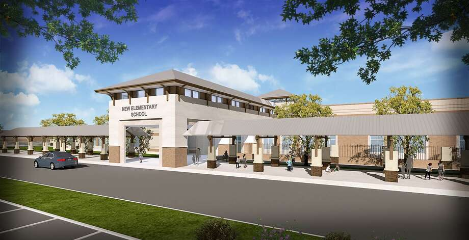 Tomball ISD will build a new elementary school along with a stadium and junior high campus north of the Grand Parkway by Cypress Rosehill Road. Photo: Courtesy Of PBK Architects