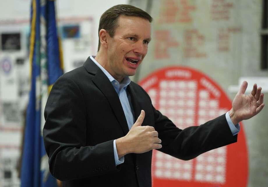 Sen. Chris Murphy Photo: Brian A. Pounds / Hearst Connecticut Media / Connecticut Post