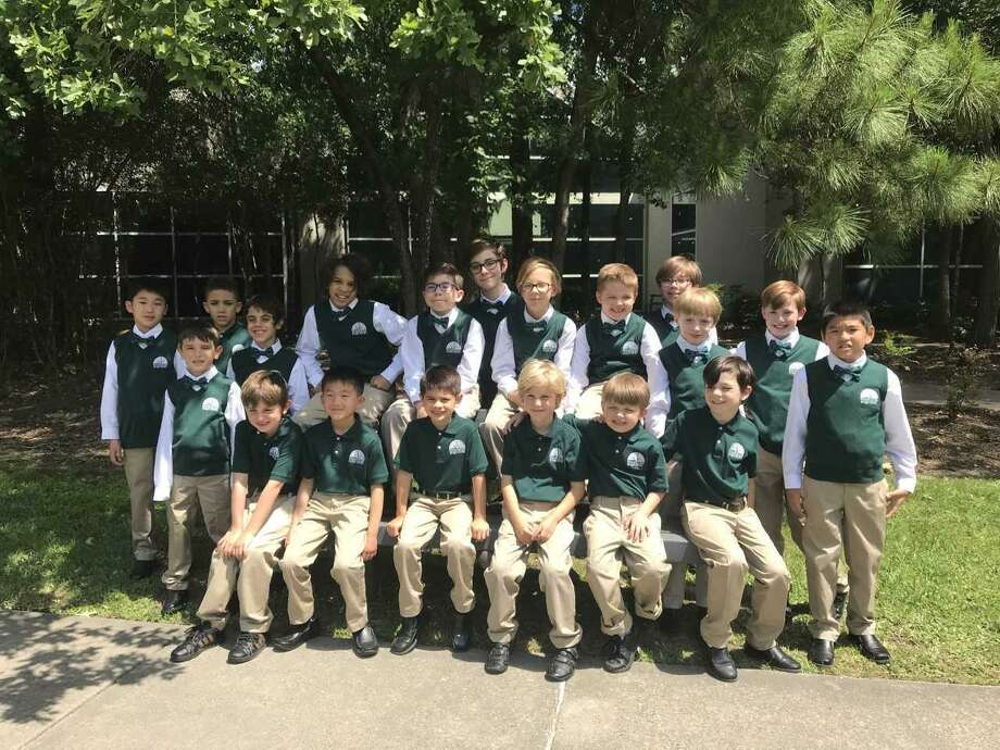 The Woodlands Boys Choir recently won two awards for their performances at the Schlitterbahn Sound Waves Music Festival in New Braunfels, Texas. Photo: Submitted Photo / Submitted Photo