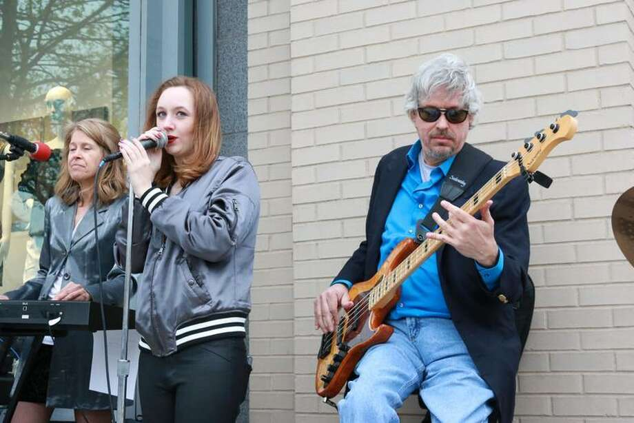 The first annual Make Music Greenwich, an outdoor festival featuring more than 10 free acts, is taking place June 21, outside the Greenwich Arts Council building on Greenwich Avenue. Photo: Www.greenwichartscouncil.org