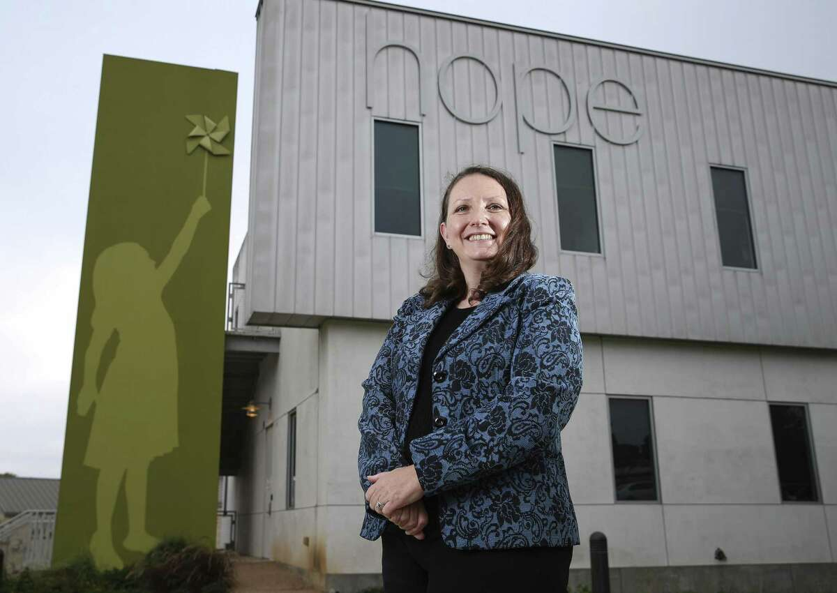 New CEO Jessica Knudsen is taking the reins of Clarity Child Guidance Center, the nonprofit is the only one of its kind in South Texas and serves as inpatient hospital and outpatient mental health center for children between the ages of 3 and 17. The center is facing a major financial setback as United Way cut its annual funding by 69 percent. The facility first opened in San Antonio in 1886 as an orphanage and now is in the Medical Center offering inpatient and outpatient services regardless of a client's ability to pay. They are struggling financially with the shortfall and after a recent facility expansion, are operating in the red. The center's brand-new administrator isn't giving up and hopes to bring in enough donations to remain open. (Kin Man Hui/San Antonio Express-News)