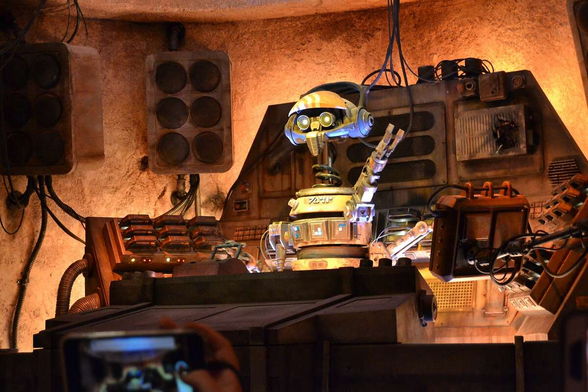 Star Wars: Galaxy's Edge at Disneyland in Anaheim, Calif. on Wednesday, May 29, 2019.