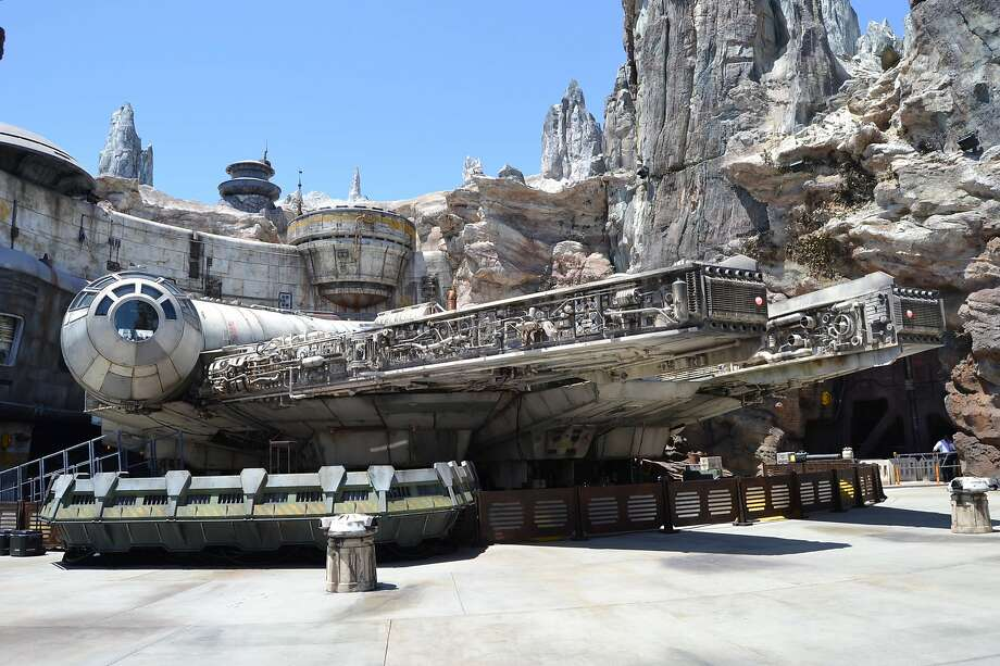 Star Wars: Galaxy's Edge opened recently at Disneyland. Now Disney has several permits for Marvel land. Photo: Alyssa Pereira / The Chronicle