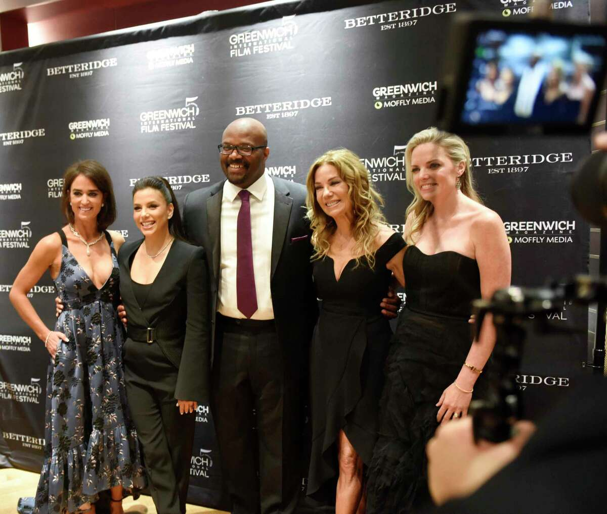 The Greenwich International Film Festival Changemaker Gala Meet & Greet cocktail reception at Betteridge Jewelers in Greenwich, Conn. Thursday, May 30, 2019. Celebrity Changemaker, Eva Longoria Bastón, was honored for her work with the Eva Longoria Foundation, while Community Changemaker, Bobby Walker, was honored for his work with the Boys & Girls Club of Greenwich. The black tie awards dinner at L'Escale emceed by television host and Greenwich resident Kathie Lee Gifford.