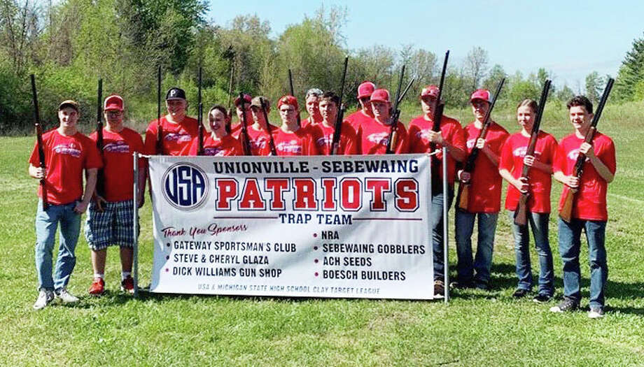 In just its second year of existence, the USA trap team won its league championship. The Patriots actually from worst in their league a year ago, to first. (Courtesy Photo)