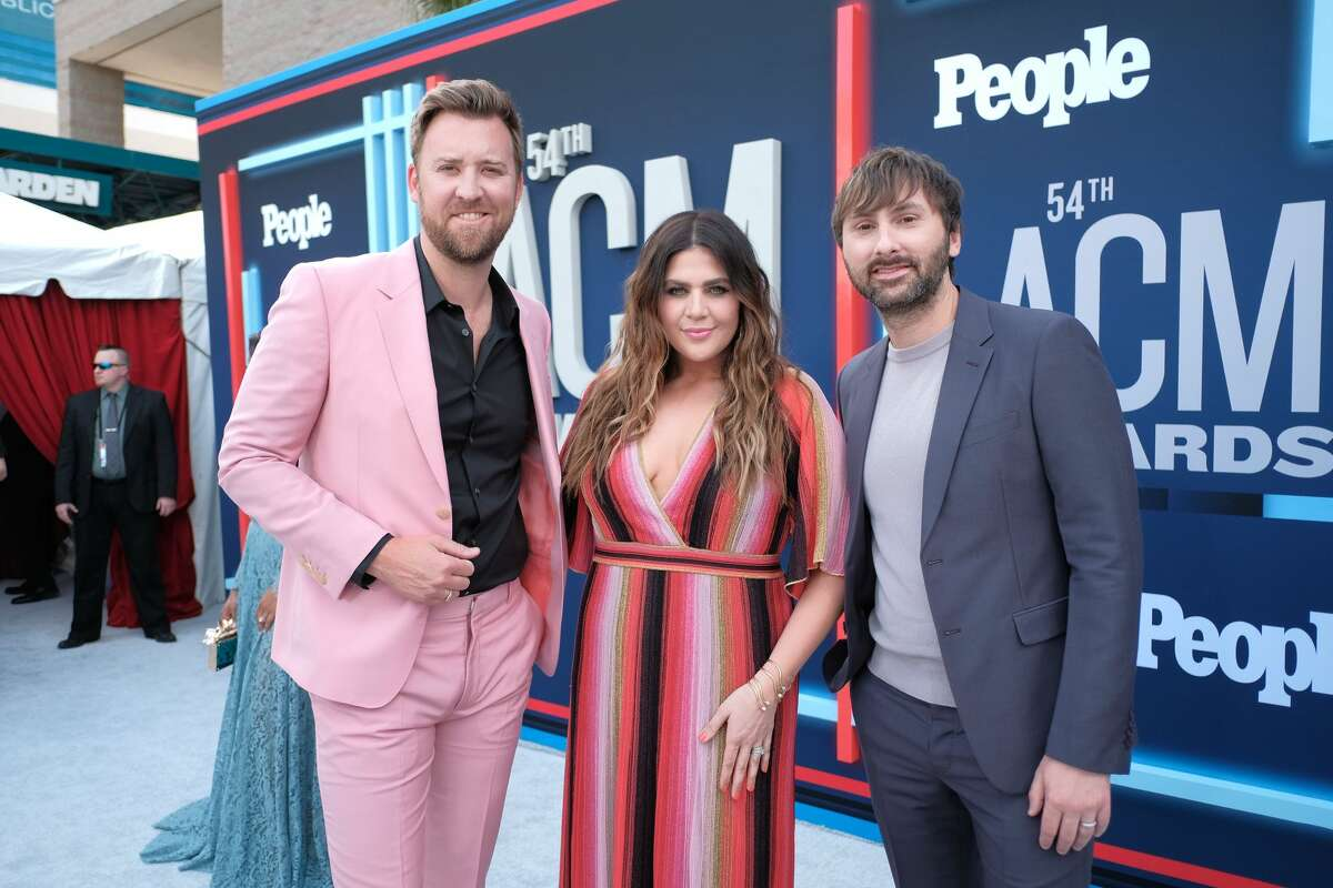 LAS VEGAS, NEVADA - APRIL 07: (L-R) Charles Kelley, Hillary Scott and Dave Haywood of Lady Antebellum attends the 54th Academy Of Country Music Awards at MGM Grand Hotel & Casino on April 07, 2019 in Las Vegas, Nevada. (Photo by Jason Kempin/ACMA2019/Getty Images for ACM)