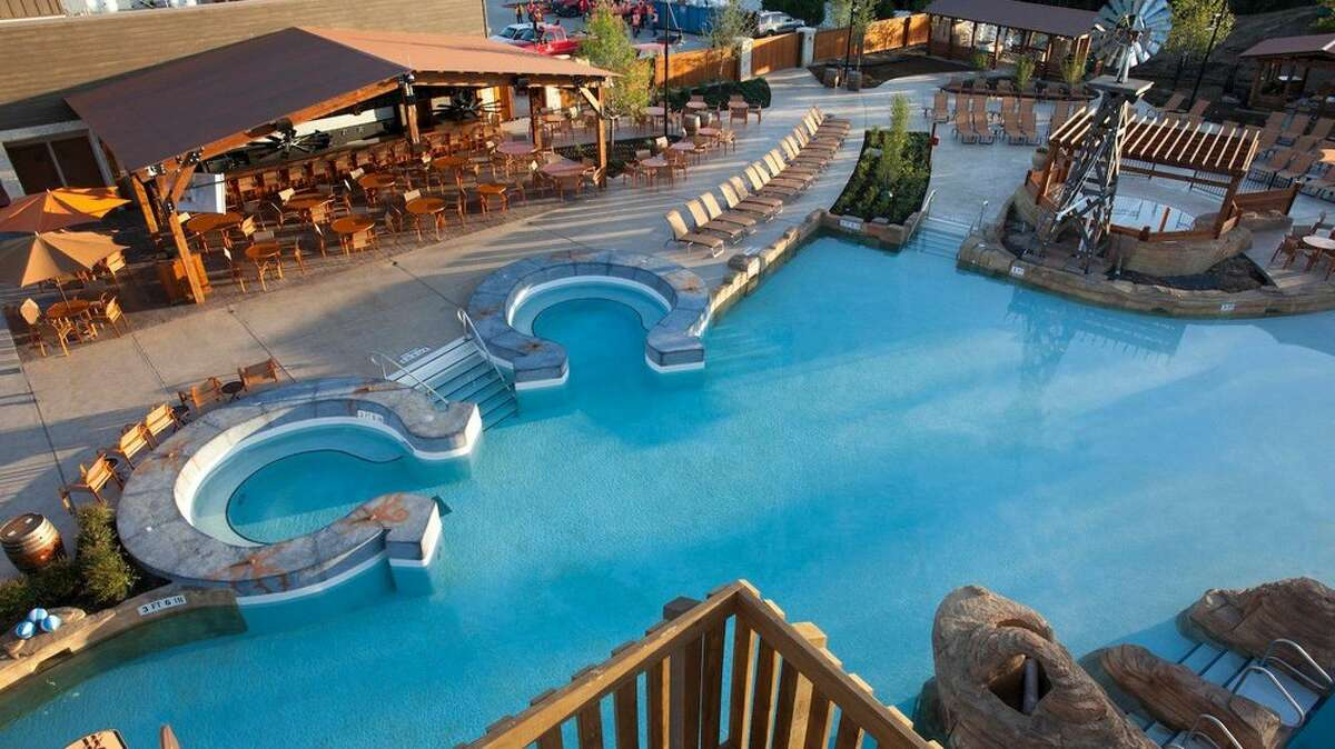 The Gaylord Texan Resort boasts kitschy Texas decor.