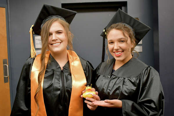 Northwestern Connecticut Community College's 53rd Commencement was held Thursday at the Warner Theatre, presided by President Michael Rooke, Ph.D. The Commencement Address was given by Kevin Noblet of Barkhamsted