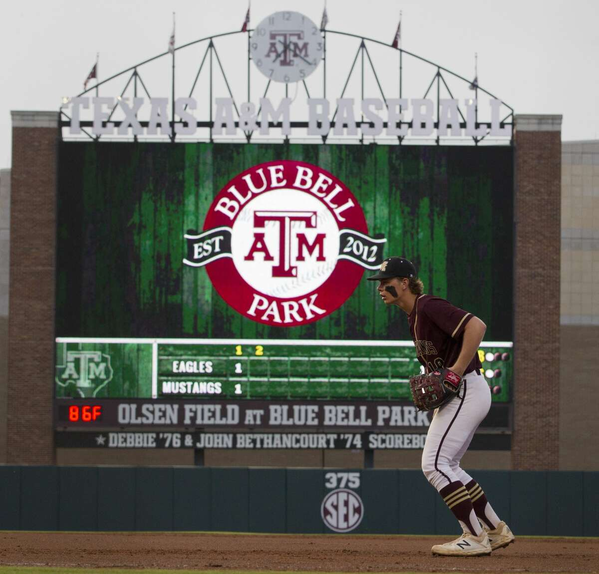 Texas A&M's Blue Bell Park will not be in use for a while after the NCAA canceled all spring sports in the wake of the coronavirus pandemic.