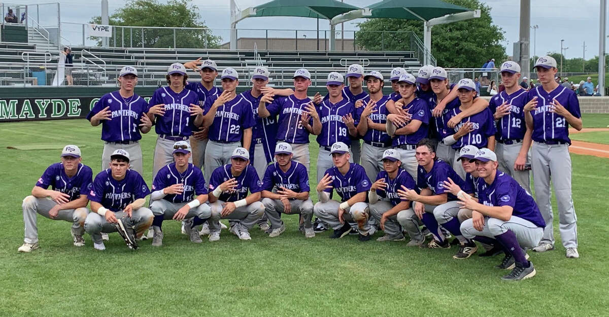 The Ridge Point baseball team advanced to its second Region III-6A semifinal in three years with a three-game series victory against Cy-Fair at Mayde Creek High School. The Panthers won the series 6-9, 9-0, 5-4.