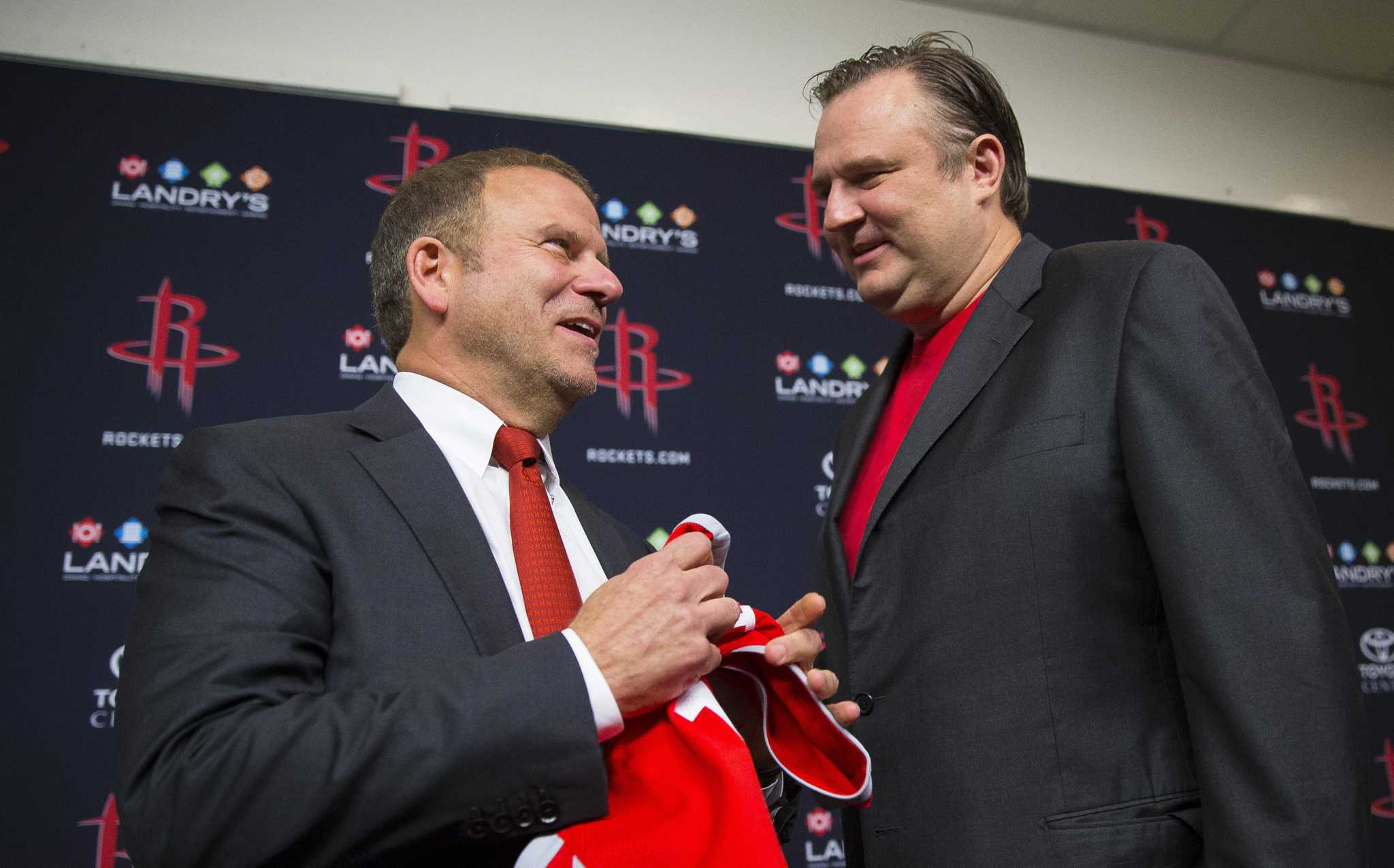 Smith: Daryl Morey's surprise exit makes Rockets' task even tougher
