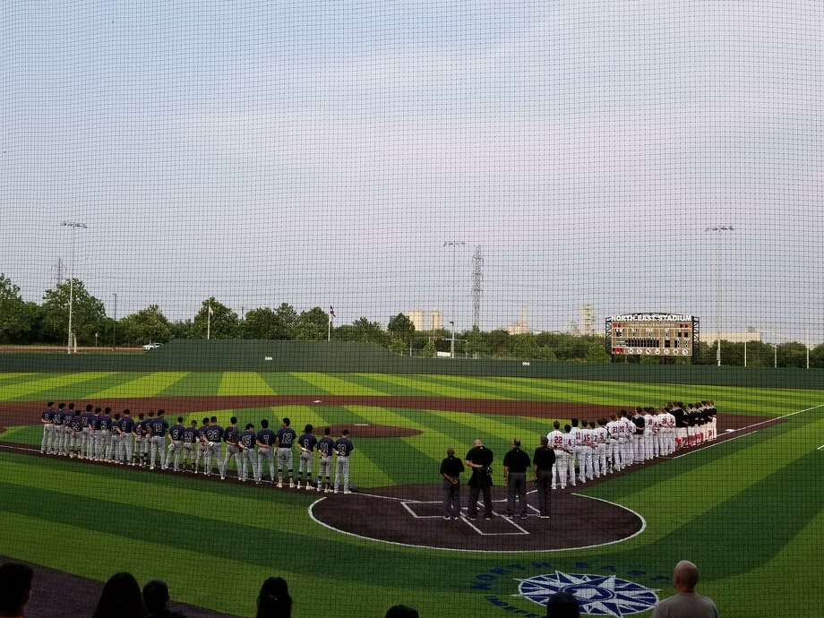 Alexander trails 1-0 in the regional finals against Lake Travis after the Cavaliers walked off for a 3-2 victory Thursday in Game 1 at NEISD Stadium in San Antonio. Photo: Courtesy Of @AHSBaseball_lrd On Twitter