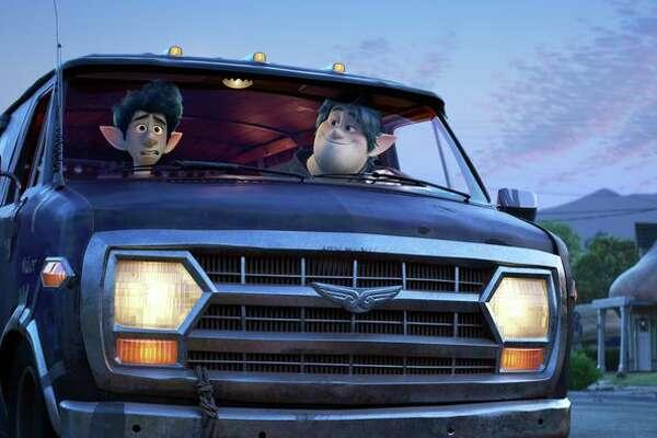 Tom Holland and Chris Pratt star in Disney Pixar's Onward.