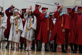 The Class of 2019 celebrates their last time in Owendale-Gagetown High School.