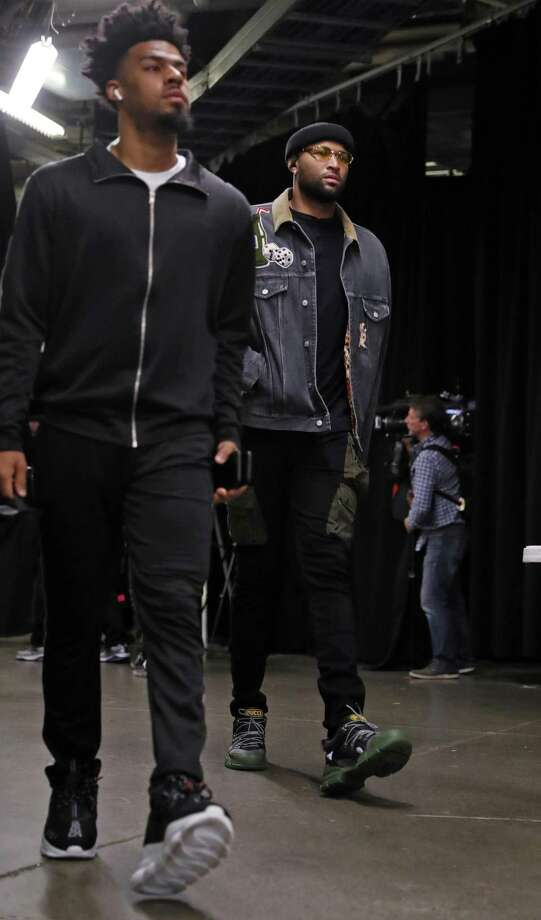 FILE - Golden State Warriors' DeMarcus Cousins and Quinn Cook arrive before NBA Finals' Game 1 at ScotiaBank Arena in Toronto, Ontario, Canada, on Thursday, May 30, 2019. Photo: Scott Strazzante / The Chronicle / San Francisco Chronicle