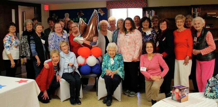 Members of the Wilbur T. Lanphierd Chapter of the National Society Daughters of the Union recently celebrated their chapter's 47th birthday. (photo provided)