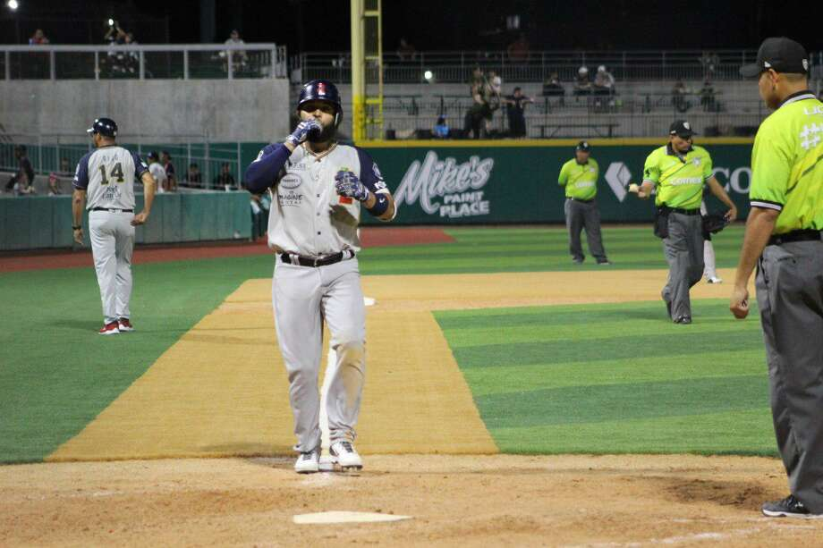 After snapping a four-series losing streak Sunday, Misael German and the Tecolotes Dos Laredos travel Tuesday for a 7 p.m. game at Pericos de Puebla. Photo: Courtesy Of The Tecolotes Dos Laredos /file