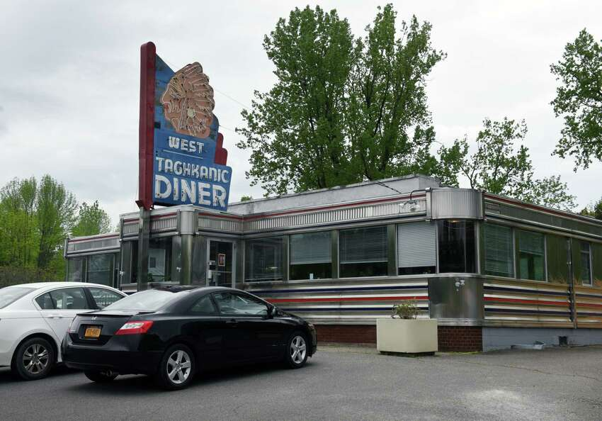 Exterior of the West Taghkanic Diner on Thursday, May 23, 2019, in Ancram, N.Y. (Will Waldron/Times Union)
