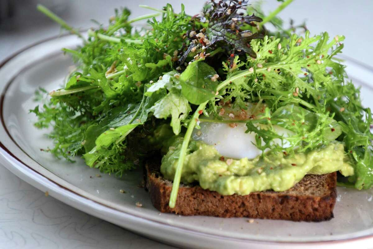 Avocado toast; Nordic rye, lemon zest, fresh herbs and poached egg from the West Taghkanic Diner at 1016 Route 82 in Ancram. 518-851-3333. Website. Read the review.