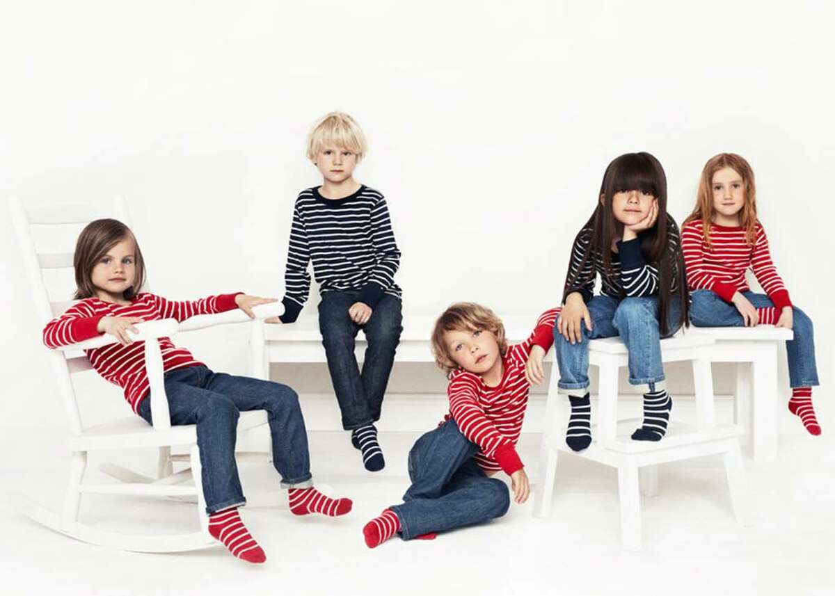 Polarn O. Pyret, Sweden's leading children's clothing company, which is known for incorporating stripes in its creations, has landed in the former Coach space on Greenwich Avenue and is set to open in August.