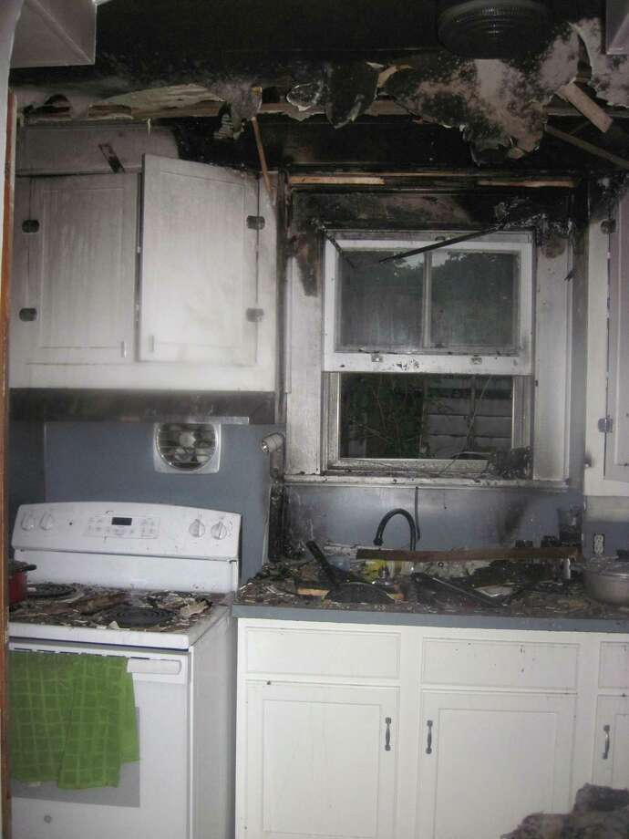 Hamden firefighters extinguished a kitchen fire Thursday, according to the department. Photo: Hamden Fire Department
