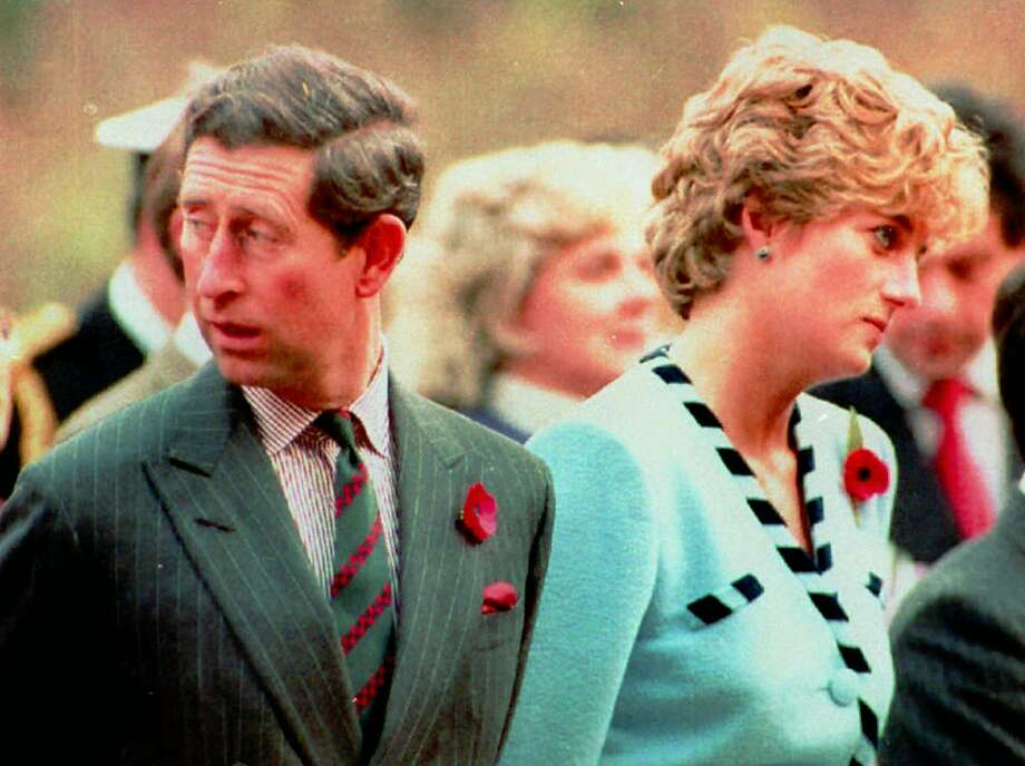 Princess Diana and her husband, Prince Charles, in unhappy days. She is remembered at National Enquirer Live. Photo: Associated Press