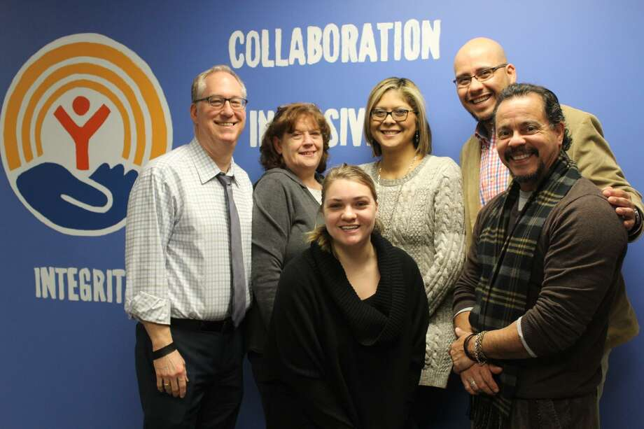 From left are Middlesex United Way President and CEO Kevin Wilhelm, Finance Assistant Tracy Raicik, Communications and Marketing Director Amanda Furlong, Administrative Assistant Maria Wood, Development Director Manny Martinez and Vice President of Community Impact Ed Bonilla. Photo: Contributed Photo