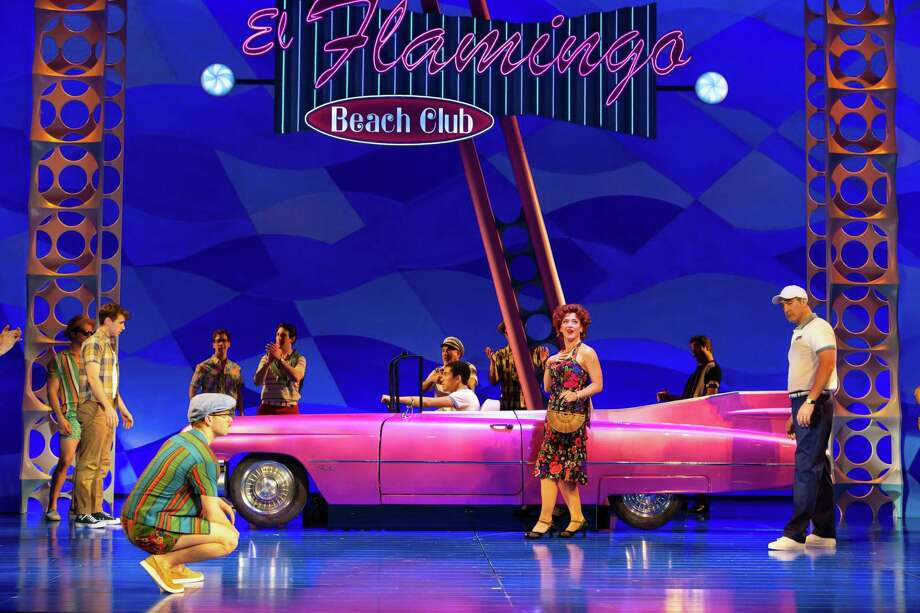 """""""The Flamingo Kid' musical continues in Hartford through June 9. Photo: T. Charles Erickson / Contributed Photo"""