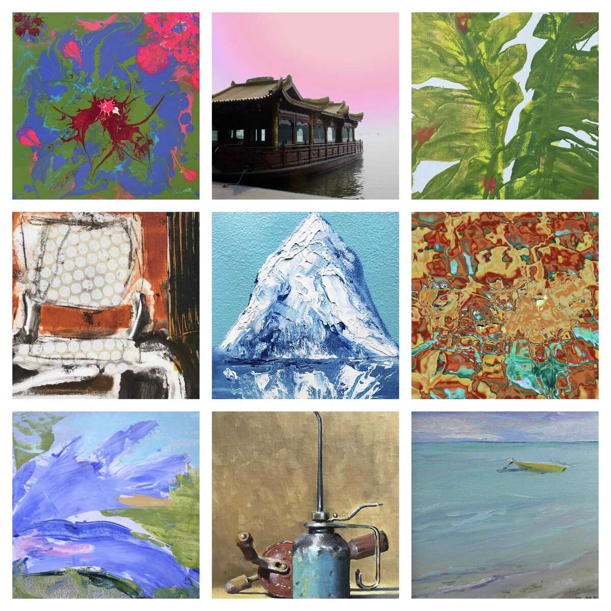"""""""Inside Small"""" is on view through June 26 at the Greenwich Botanical Center Gallery in Cos Cob. The artists will be present at the opening reception on June 9, with refreshments, light fare and music."""