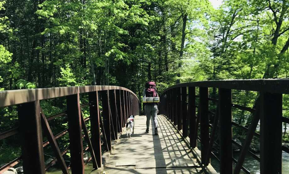 Hearst Columnist Mercy Quaye hiking the Appalachian Trail. Photo: / Mercy Quaye