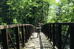 Hearst Columnist Mercy Quaye hiking the Appalachian Trail.
