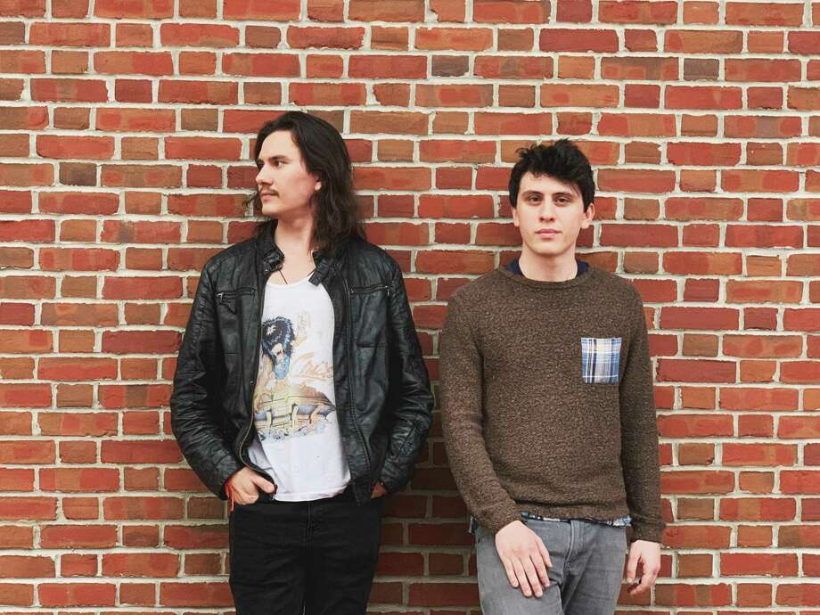 Fairfield natives Dylan Levinson, left, and Connor Levinson — Sons of Levin — will play an EP release show at Fairfield Theatre Company's StageOne June 21. Photo: Olivia Iafrate / Contributed Photo