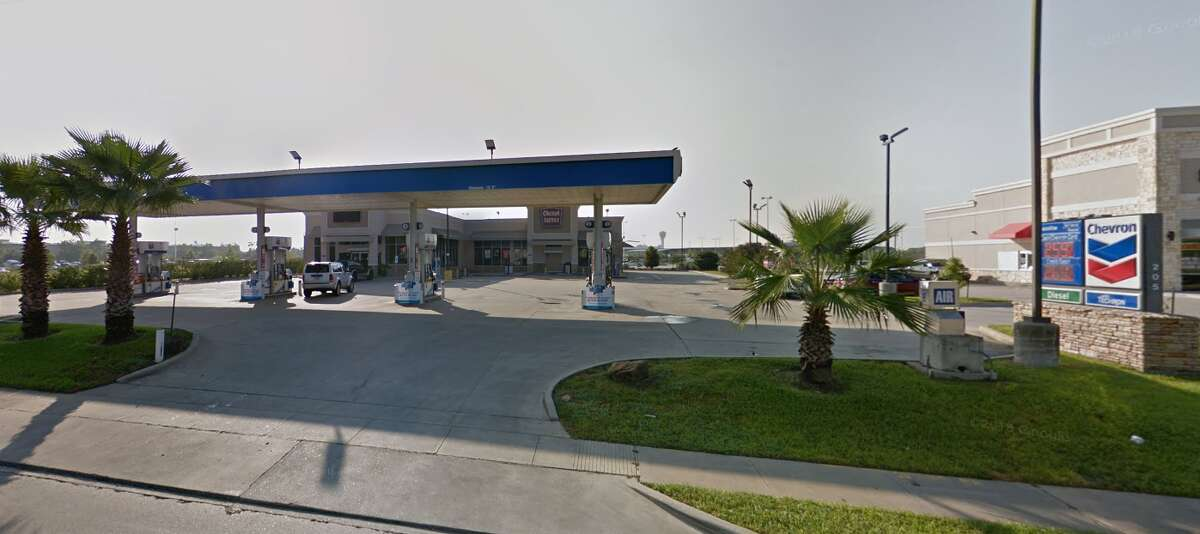 Gas station 205 W. El Dorado Blvd. Cases with skimmers found: 1