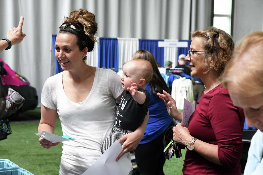 Were you Seen at the Freihofer's Run for Women Health and Fitness Expo at the Armory at The Sage Colleges in Albany May 31, 2019? Photo: Freihofer's Run For Women/Michael P. Farrell