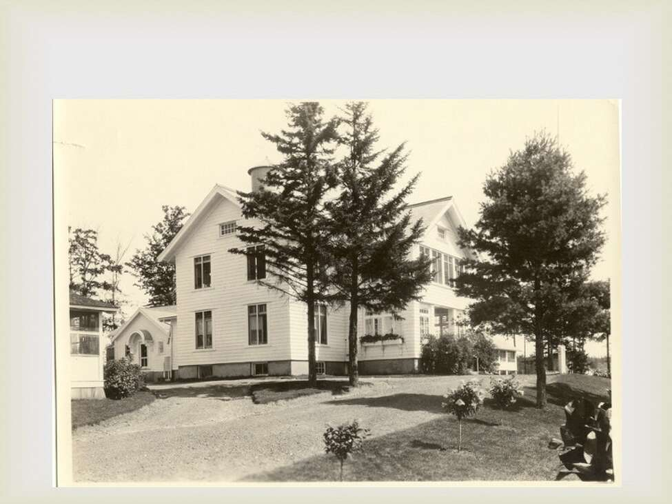 This is the original 1914 sanatorium, built before the sprawling campus was built in 1936. (Saratoga County Historian)