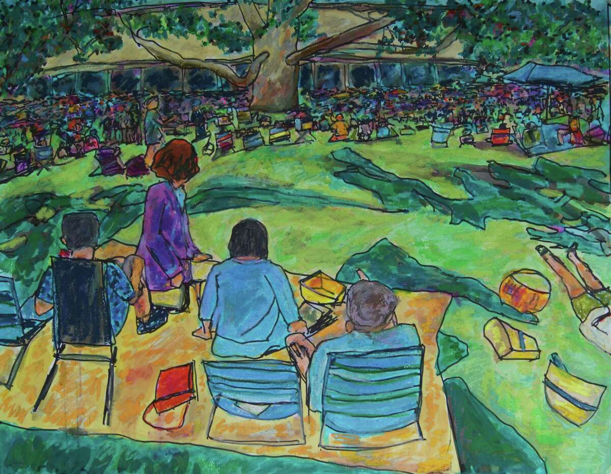 Goshen artist Don Sexton's work will be exhibited at the NorthEast-Millerton Library, 75 Main St, Millerton, NY, June 4-28. Above,