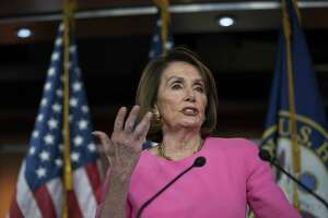"""Speaker of the House Nancy Pelosi, D-Calif., meets with reporters May 23, a day after she said President Donald Trump """"is engaged in a cover-up,"""" as he continues to stonewall congressional oversight. But the House actually has all the information it needs to proceed with impeachment if it wants."""