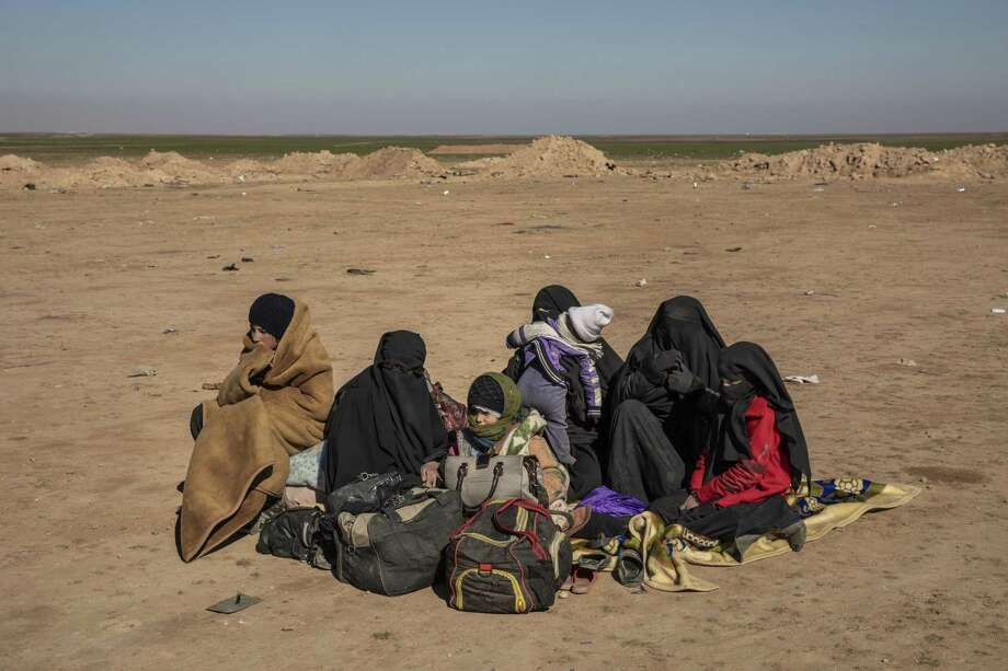 With ISIS' territory down to zero, countries around the world are grappling with the dilemma of the militant group's followers, those in Syrian prisons run by Kurdish forces and women and children, the fighters' families. Photo: IVOR PRICKETT /NYT / NYTNS