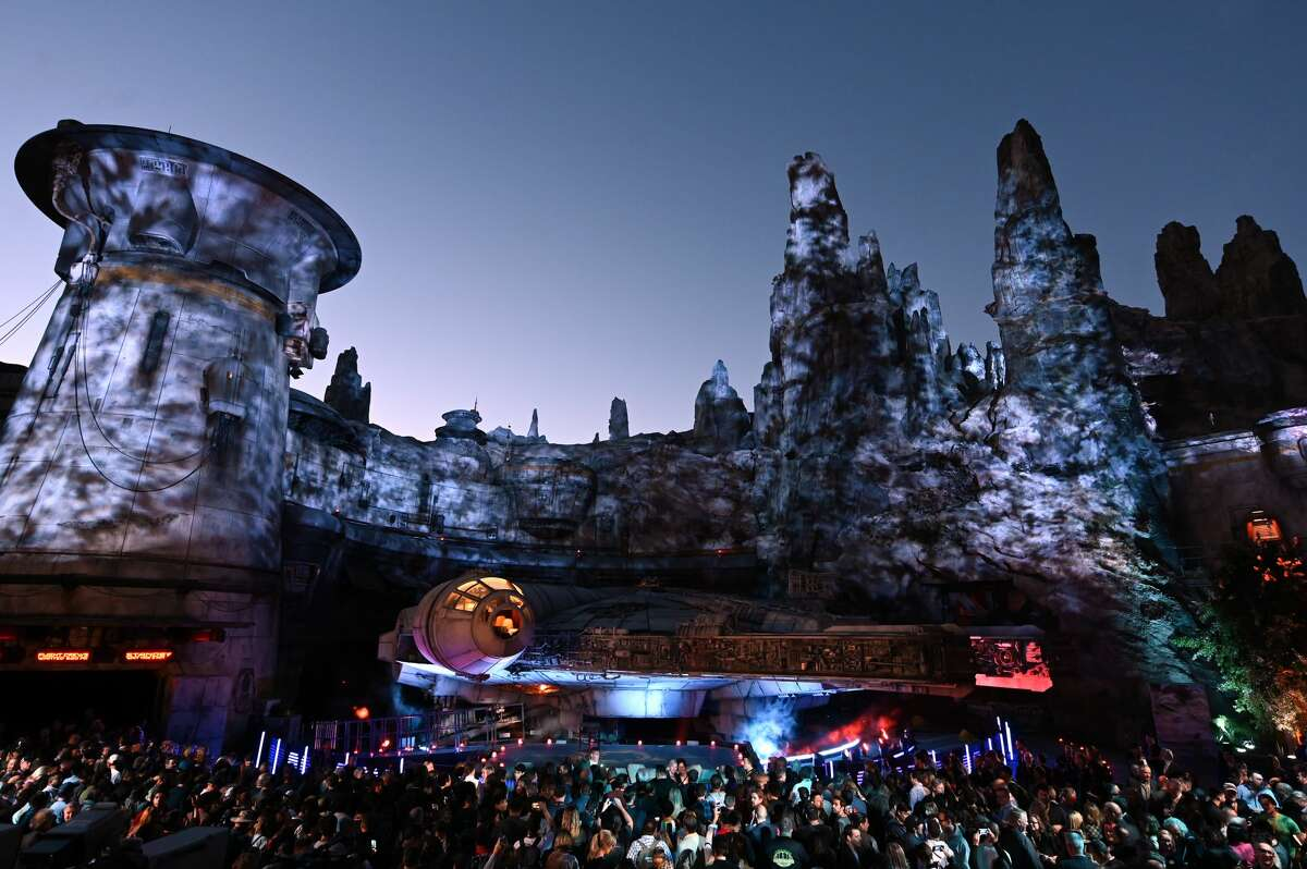 Details of Star Wars: Galaxy's Edge Media Preview at the Disneyland Resort on May 29, 2019 in Anaheim, California.