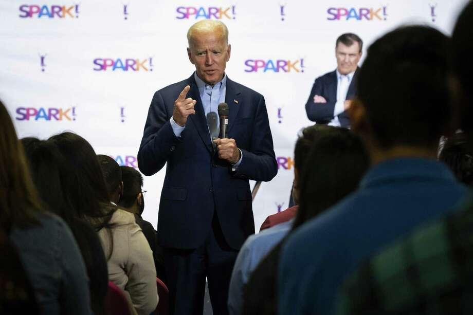 Joe Biden has some explaining to do, but the 1994 bill overall was a necessary response to a devastating crime wave. Photo: Smiley N. Pool / Associated Press / The Dallas Morning News