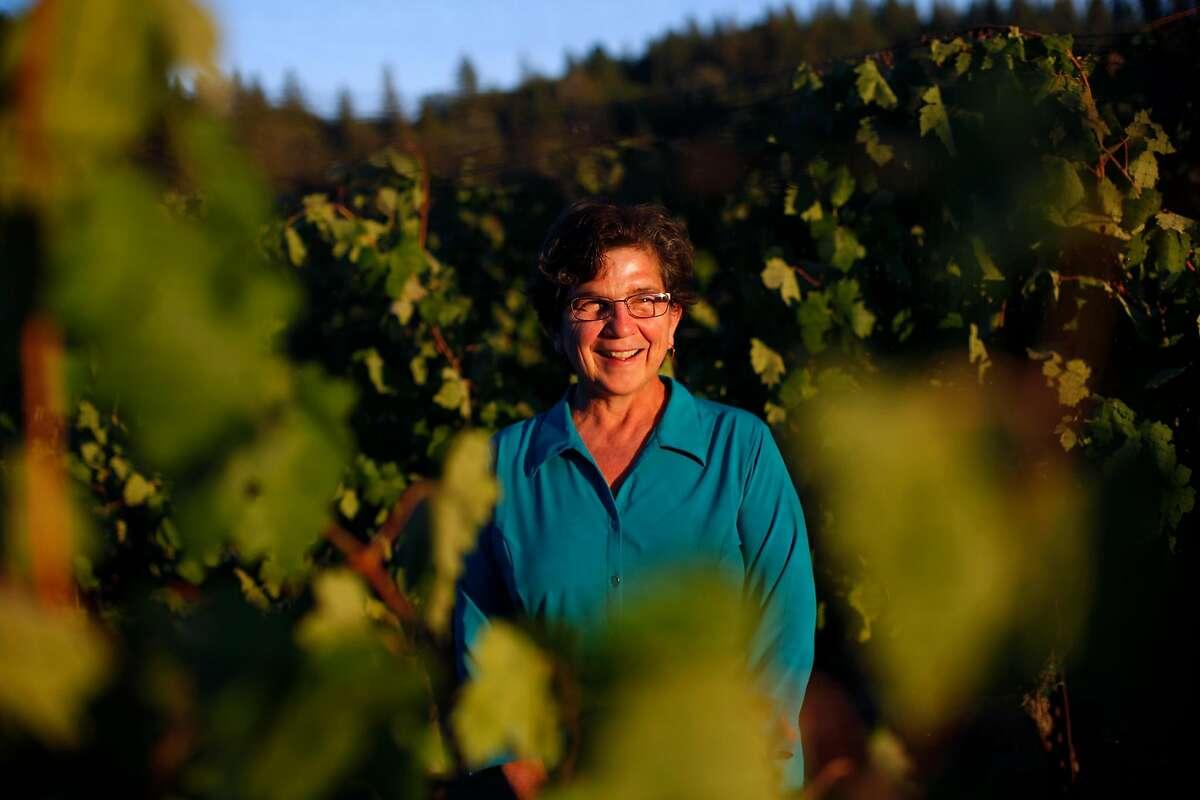 Ann Kraemer, the owner of Shake Ridge Vineyards in Sutter Creek, Calif., on Monday, August 18, 2014.