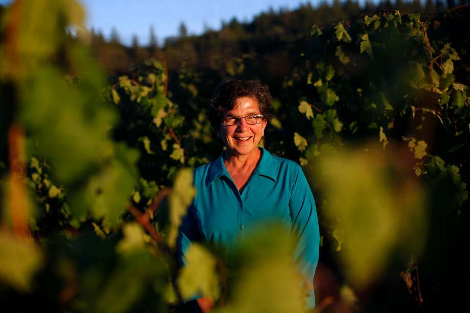 Ann Kraemer at Shake Ridge Ranch, the Amador County vineyard she farms. Photo: Sarah Rice / Special To The Chronicle 2014