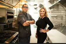 Romer Sanchez (left) will serve as executice chef at SaVor Bistro, a new Stone Oak restaurant owned by Elizabeth Davis (right).