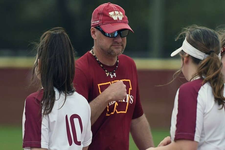 Cy Woods head softball coach Clifton Bond. Photo: CFISD