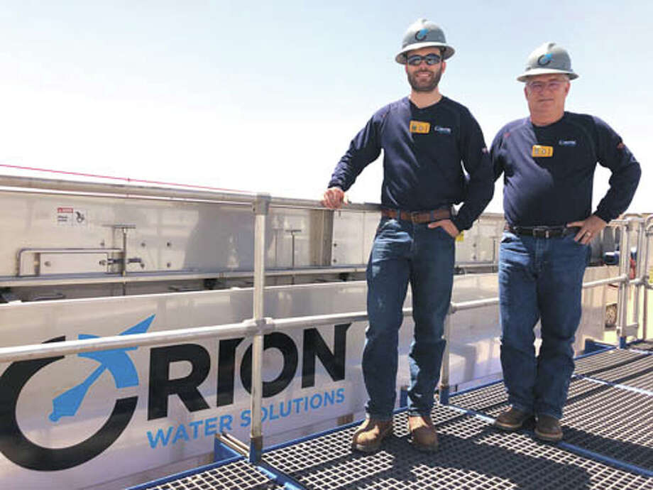 Orion Water Solutions' double capacity DAF unit treats up to 40,000  barrels of water per day. That's enough for 'on-the-fly' treatments for  most frac jobs using two-thirds produced water. To put this unit to work  in your frac jobs call Orion Water Solutions at 432-219-8100. Photo: Courtesy Photo